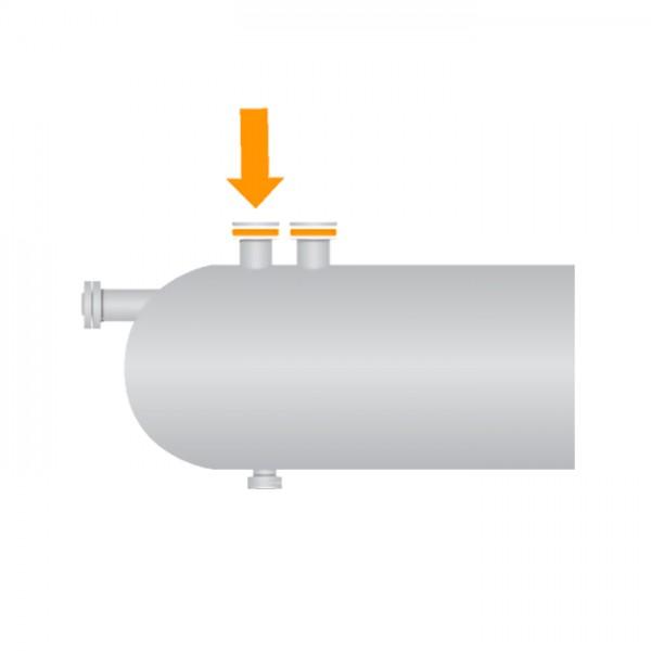 Disco de Ruptura para Cabezal de Seguridad para Separador Oseco