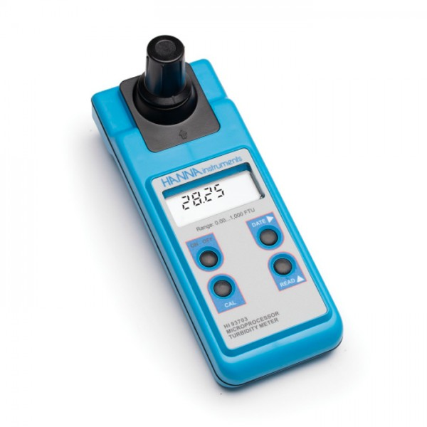 Medidor Portátil de Turbidez ISO compatible HI93703 Hanna