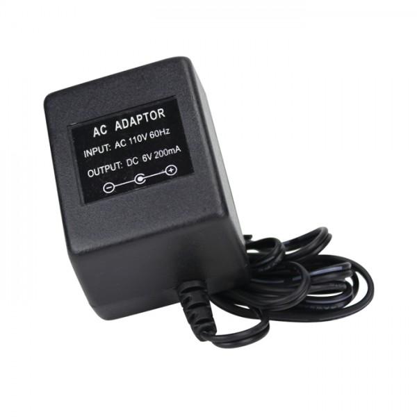 Adaptador 6VDC 200 m A Adam