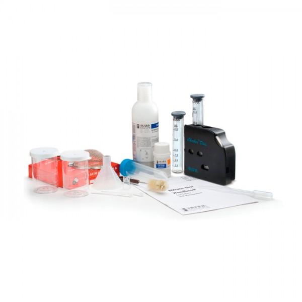 Kit de prueba de Nitrato para suelo y agua de riego HI38050 Hanna