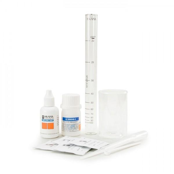 Kit de prueba de Sulfato HI38000 Hanna