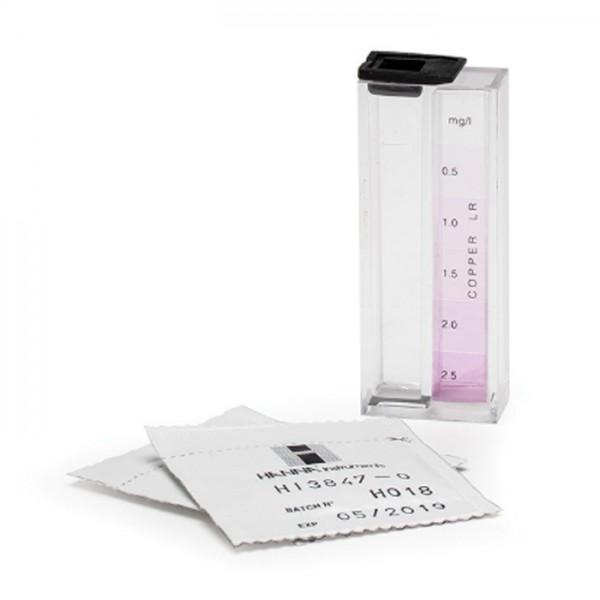 Kit de prueba Química de cobre HI3847 Hanna