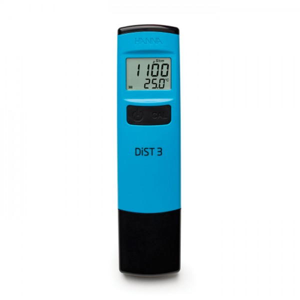 Tester DiST 3 Waterproof EC (0-2000 μS / cm) HI98303 Hanna