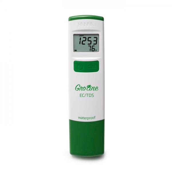 Probador EC / TDS (ppm) a prueba de agua GroLine HI98318 Hanna