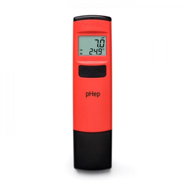 Probador de pH de Bolsillo impermeable con 0.1 Resolución - pHep® HI98107 Hanna