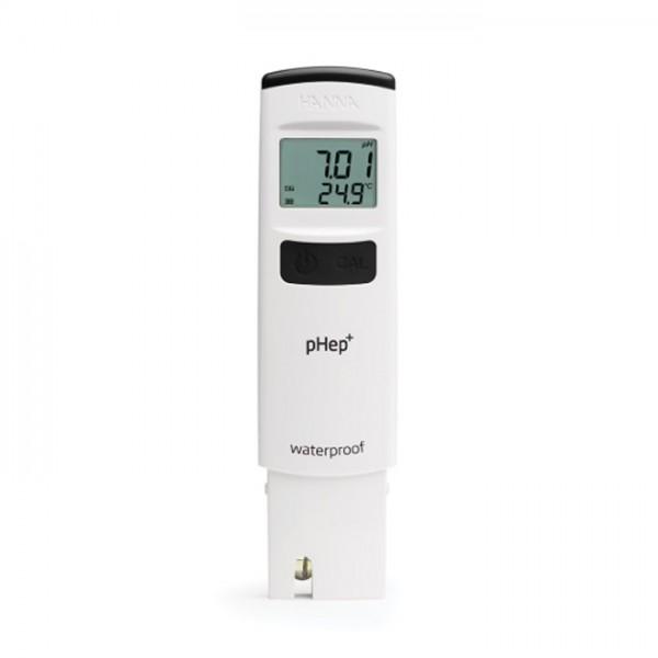 Probador de pH de Bolsillo a prueba de agua con 0.01 pH Resolution HI98108 pHep Hanna