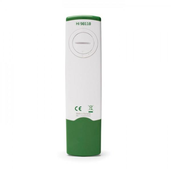 Probador de pH hidropónico impermeable GroLine HI98118 Hanna
