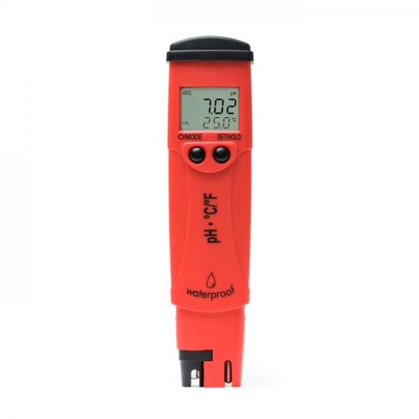 Probador de pH / Temperatura con una resolución de pH de 0.01 - pHep®5 HI98128 Hanna