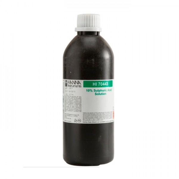 Reactivo de Ácido Sulfúrico 10%, 500 ml HI70443 Hanna