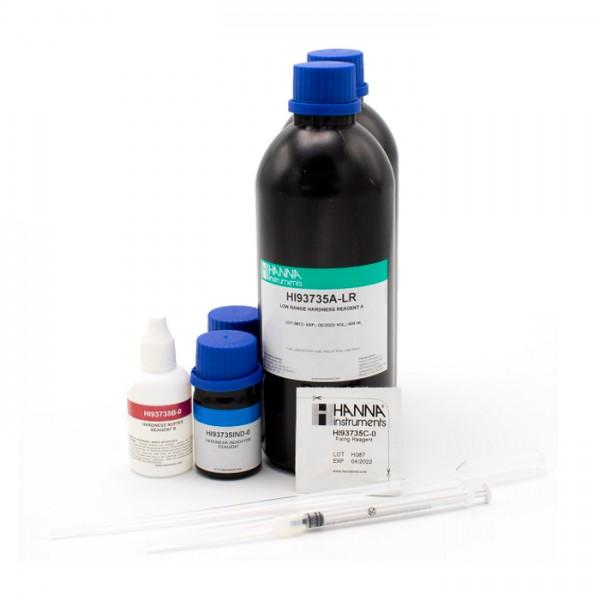 Dureza total Reactivos Colorimétricos de rango bajo HI93735-00 (100 pruebas) Hanna
