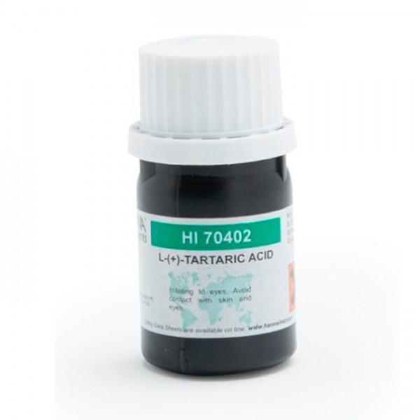 Reactivo de Ácido Tartárico, 20 g HI70402 Hanna