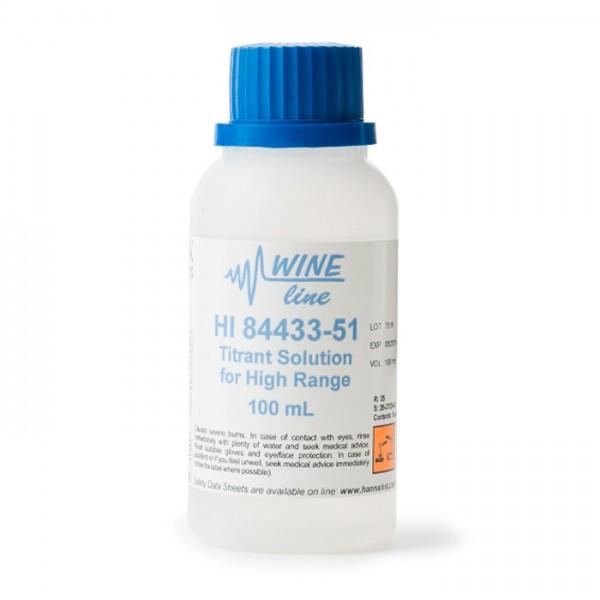 Reactivo de Ajuste de pH para Mini Titulador de Número Formol HI84433-51 Hanna