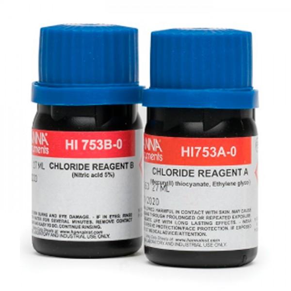 Reactivos Cloruro Checker® HC HI753-25 (25 pruebas) Hanna