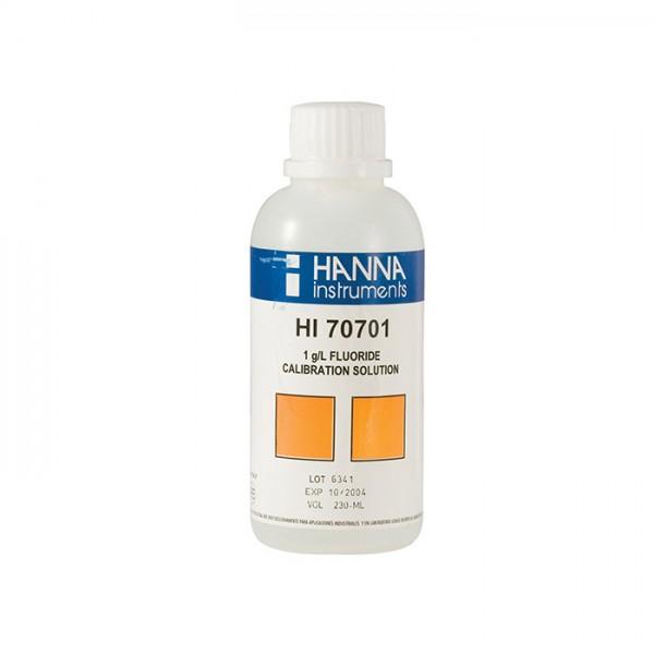 Solución Estándar de Flúor 1 g HI70701M / l (230 ml) Hanna