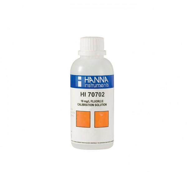 Solución Estándar de Flúor 10 mg HI70702M / L (230 ml) Hanna