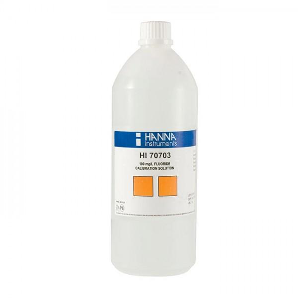 Solución Estándar de Flúor 100 mg HI70703L / L (500 ml) Hanna