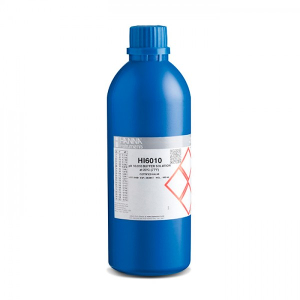 Buffer de Calibración Milesimal HI6010 (500 ml) pH 10.010 Hanna