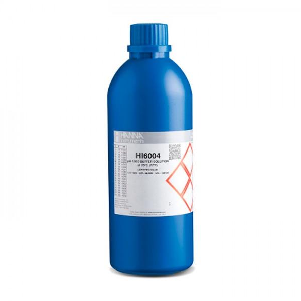 Buffer de Calibración Milesimal pH 4.010 (500 mL) HI6004 Hanna