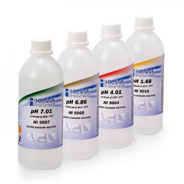Buffer de Calibración Técnica pH 9.18 (500 mL) HI5091U Hanna