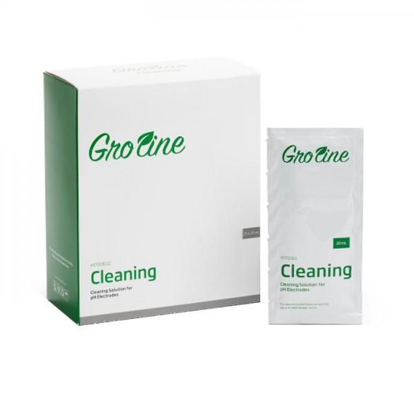 Saquitos de Solución de limpieza de uso general GroLine, 20 ml HI70061G (25 piezas) Hanna