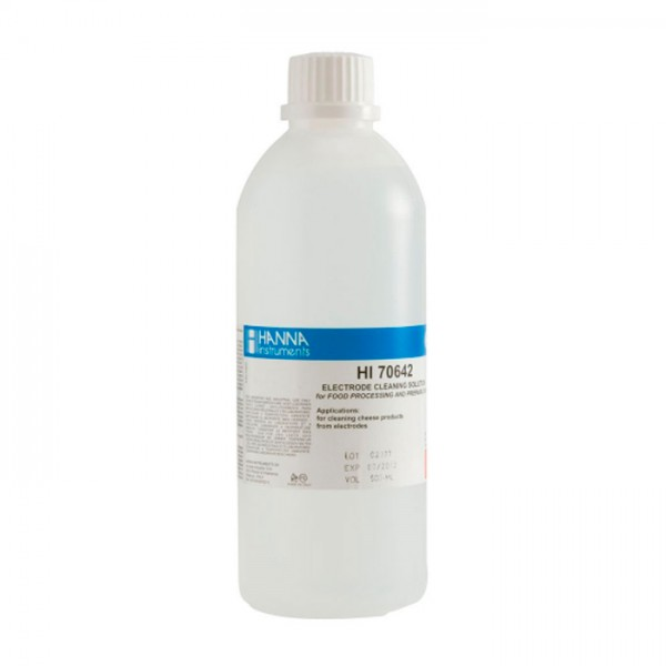 Solución de Limpieza para Depósitos de queso HI70642L (500 ml) Hanna
