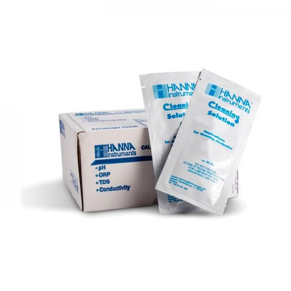 Solución de Limpieza para Depósitos de suelo HI700663P (sobres de 25 x 20 ml) Hanna