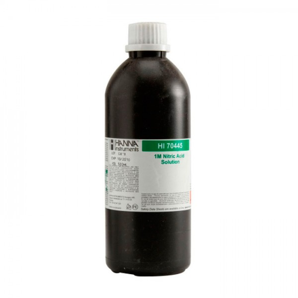 Solución de ácido nítrico 1M, 500 ml HI70445 Hanna