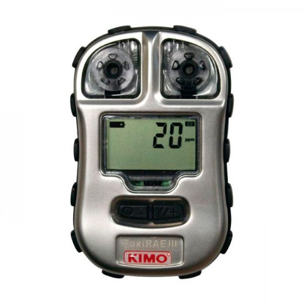 Detector de Gas Personal para H2S y CO ToxiRAE III-H2S / ToxiRAE III-CO Kimo