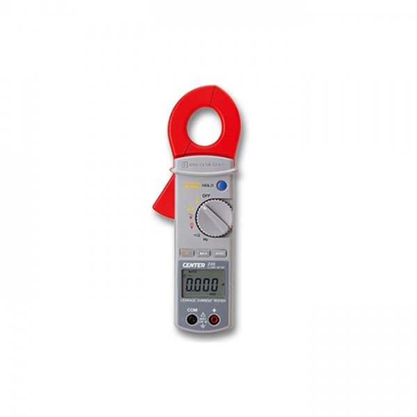 Pinza Amperimétrica de Fuga (AC) CENTER 235