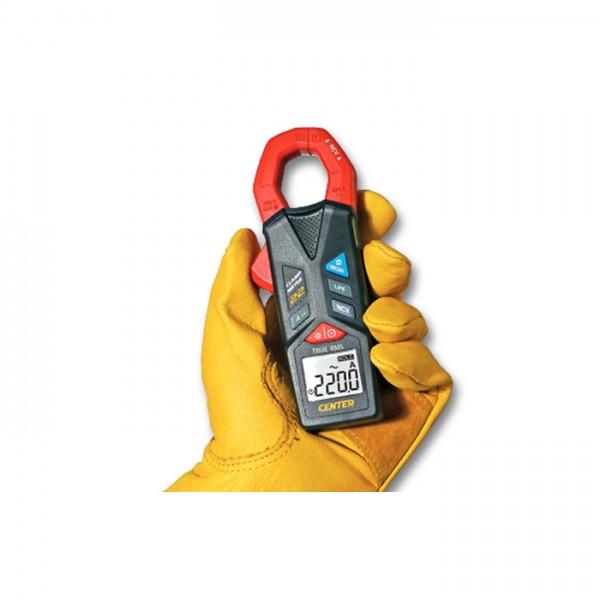 Medidor de Corriente Eléctrica tipo Pinza CENTER 22