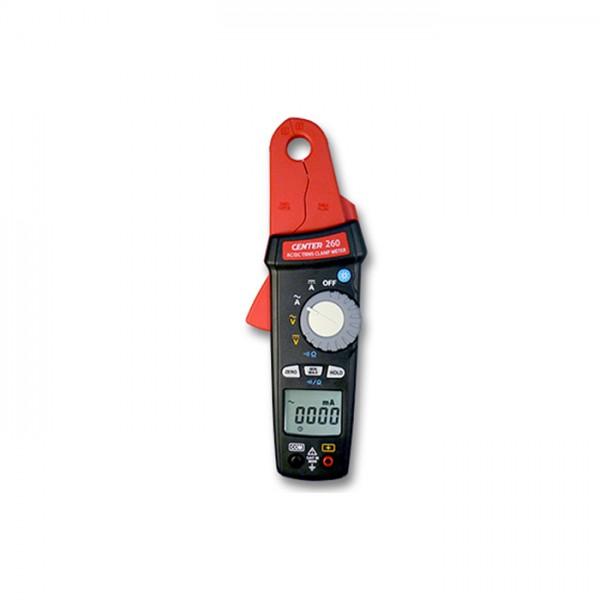 Pinza Amperimétrica TRMS (CA/CC, 1mA) CENTER 260