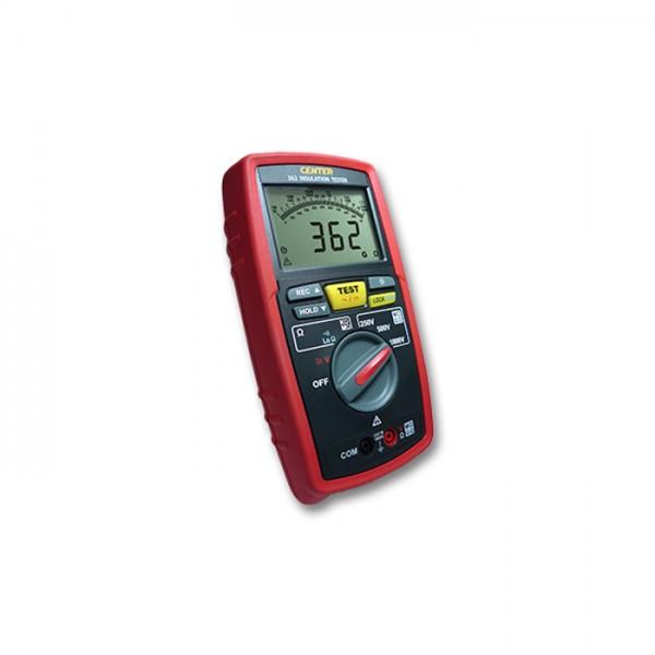 Probador de Aislamiento (250/ 500/ 1000V, 400G, Datalogger) CENTER 362