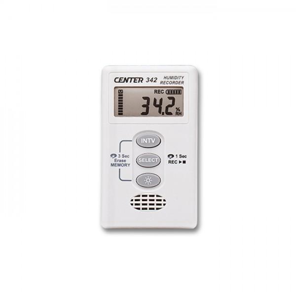 Registrador de Humedad de Temperatura CENTER 342