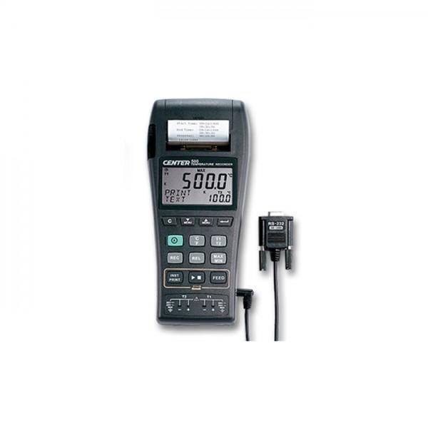 Registrador Gráfico de Temperatura CENTER 500