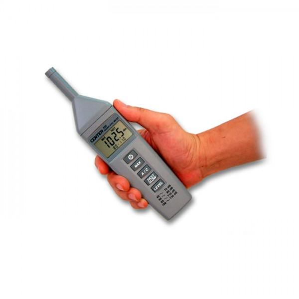 Medidor de Nivel de Sonido de Tamaño Compacto CENTER 329