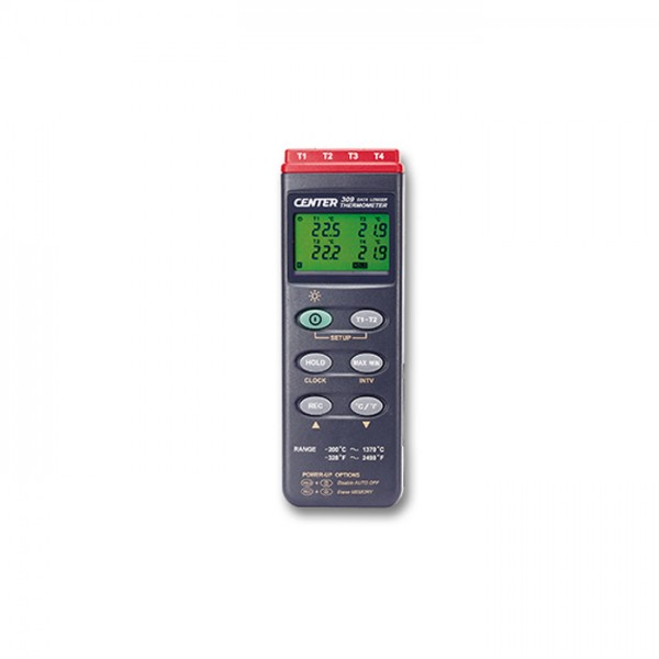 Termómetro Datalogger CENTER 309