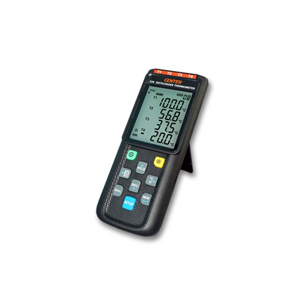 Termómetro Datalogger CENTER 520