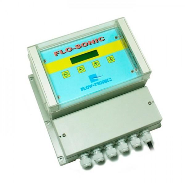 Flujómetro por Tiempo de tránsito FLO-SONIC OCFM  FLOW-TRONIC JDC Electronic