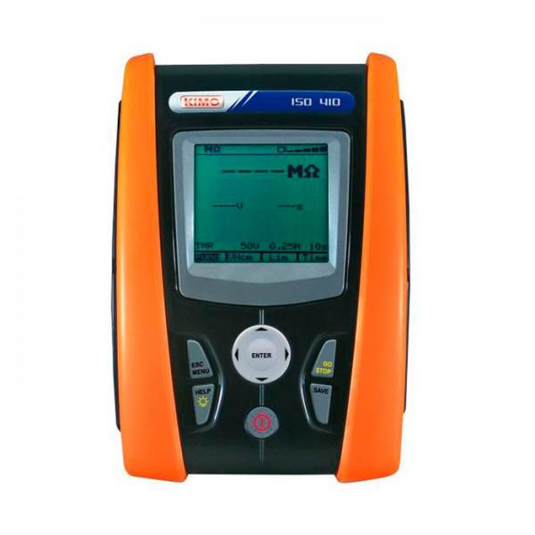 Controlador de Aislamiento y Continuidad ISO 410 Kimo