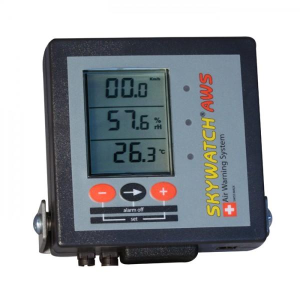Anemómetro-Termómetro con Alarma AWS SKYWATCH JDC Electronic
