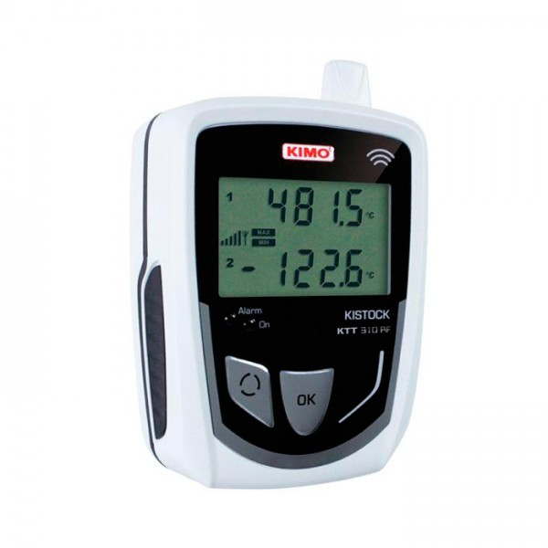 Grabador Autónomo de Temperatura del Termopar KTT 310-RF Kimo