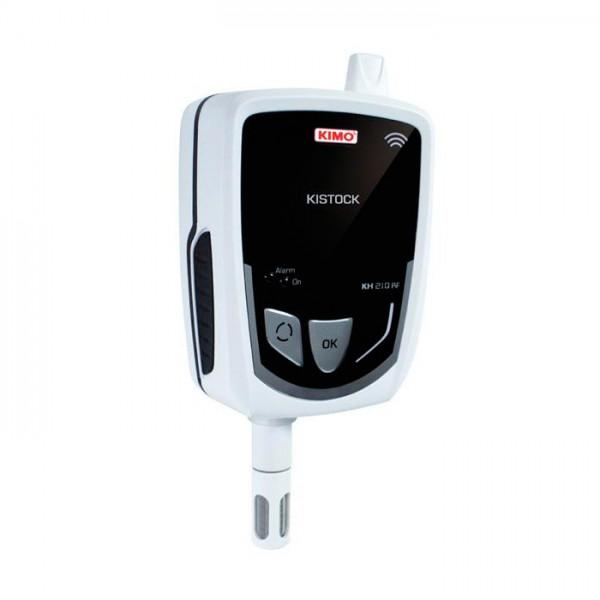 Grabador Autónomo de Temperatura / higrometría / corriente / voltaje / pulso KH 210-A-RF Kimo
