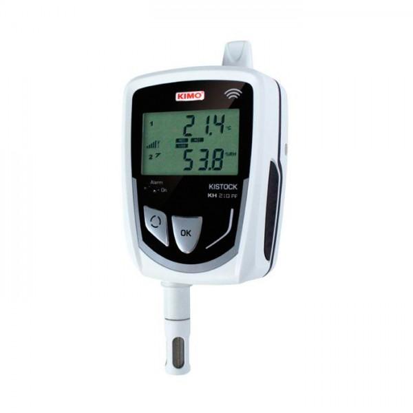 Grabador Autónomo de Temperatura / higrometría / corriente / voltaje / pulso KH 210-DO-RF Kimo