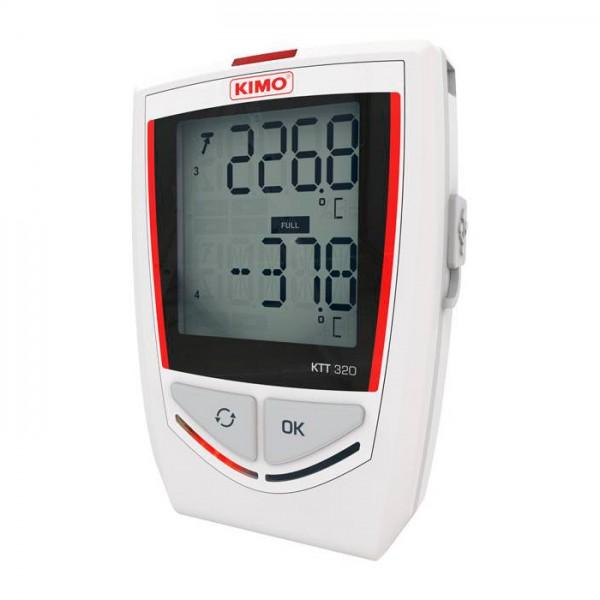 Grabador Autónomo de Temperatura KKT 320 Kimo