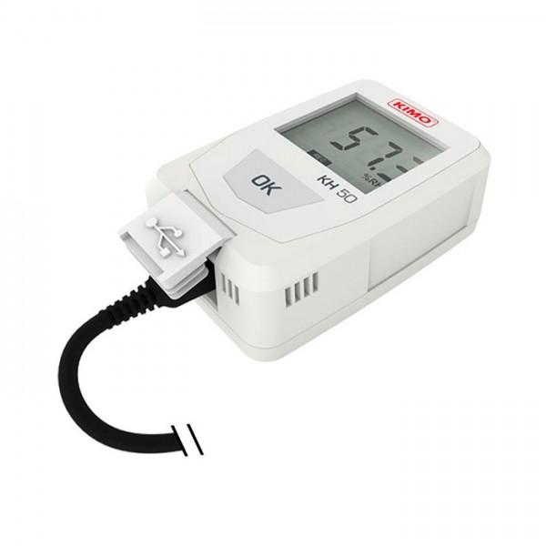 Grabador Autónomo de Temperatura / Higrometría KH 50 Kimo