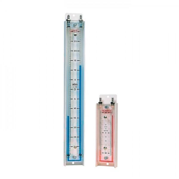 Manómetro con Columna de Líquido Vertical Serie LU Kimo