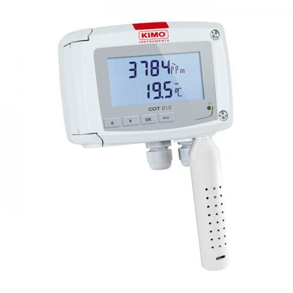 Sensor de CO2 y Temperatura COT 212-R Kimo