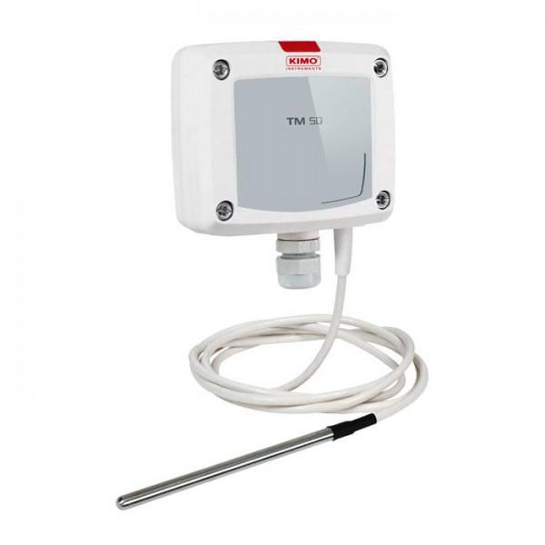 Sensor de Temperatura con Conexión Directa al Bloque de Terminales TM 50 Kimo