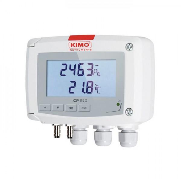 Sensor de Temperatura y Presión Diferencial CP 210-R Kimo