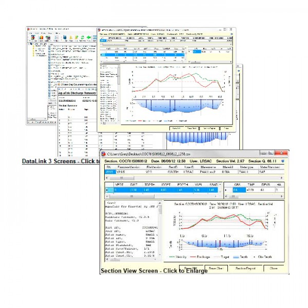 Software Agua Calc Data Link JBS Instruments